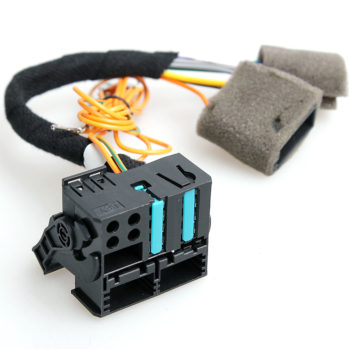 OEM-VW-RCD510-RCD310-Wiring-Harness-Adapter-Radio-ISO-To-Quadlock-Fakra-Cable-For-VW-Golf