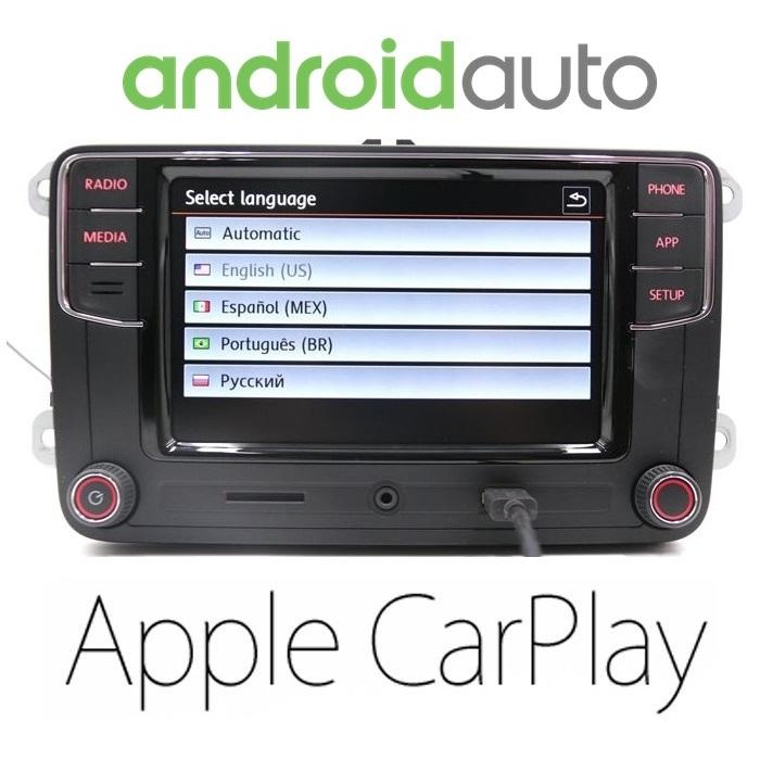 RCD 330 Plus с Android Auto и Carplay